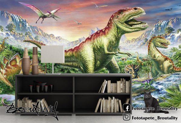Tiranosaurus rex foto tapet za decu