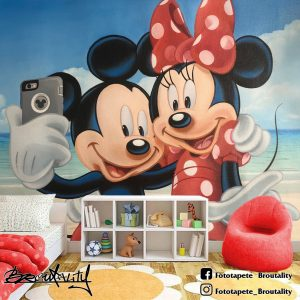 Mickey and Minnie Mouse miki maus tapet za decu