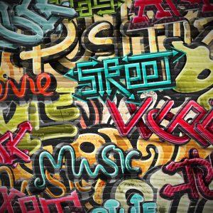Grafit foto tapet za decu